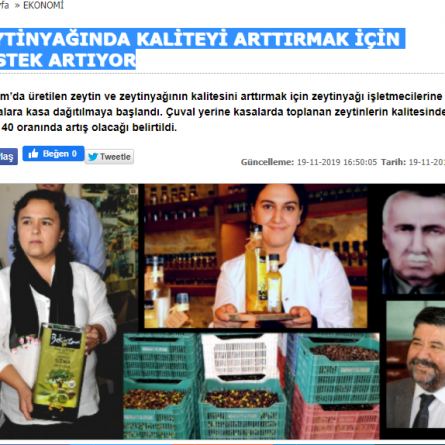 Bekiroğlu Zeytinyağ_Bodrum Anter Haber