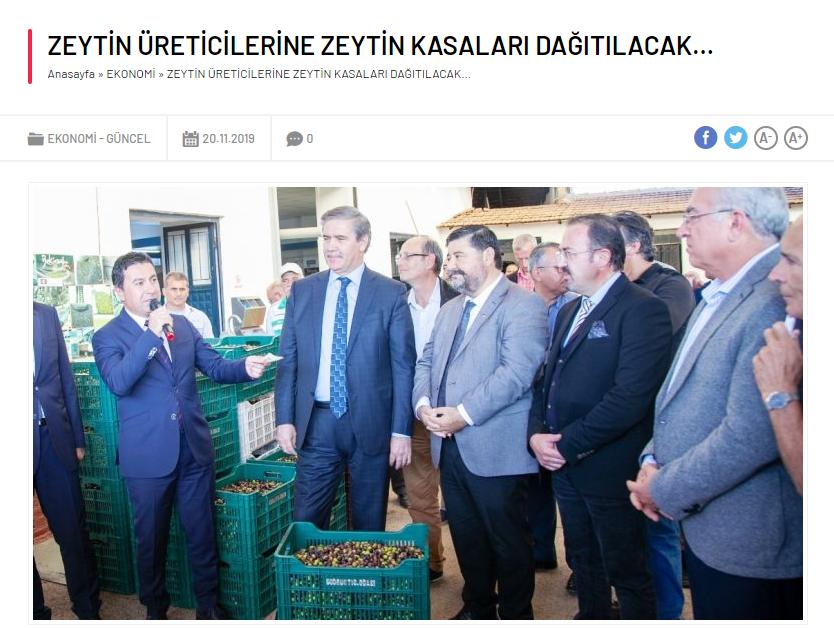 Bekiroğlu Zeytinyağ_Bodrum Arena Haber